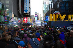Super Bowl Boulevard - New York City Stock Images