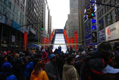 Super Bowl Boulevard - New York City Royalty Free Stock Photos