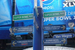 Super Bowl bulwar Obraz Stock