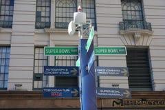 Super Bowl bulwar Obrazy Royalty Free