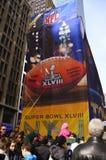 Super Bowl bulwar Zdjęcie Royalty Free