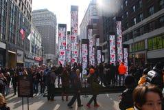 Super Bowl bulwar - Miasto Nowy Jork Fotografia Royalty Free