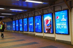 Super Bowl bulwar - Miasto Nowy Jork Obrazy Royalty Free