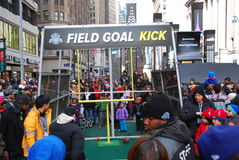 Super Bowl bulwar - Miasto Nowy Jork Obraz Stock