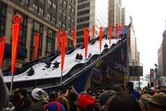 Super Bowl bulwar - Miasto Nowy Jork Obraz Royalty Free