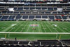 Super Bowl del campo del estadio de los vaqueros fotografía de archivo