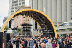 Super Bowl miasta fan kopuła w San Fransisco zdjęcia royalty free