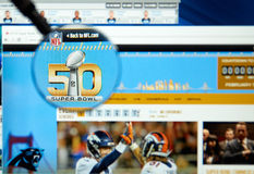 Super Bowl 50. royalty free stock photography