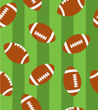 Super bowl Pattern Royalty Free Stock Photo