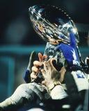 Super Bowl-Trophäe Stockfotos