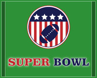 Super bowl - vector. Illustration of a Super Bowl background. EPS file available Stock Photography
