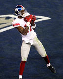 Super Bowl XLII: Neu-England gegen New York Giants Lizenzfreies Stockbild