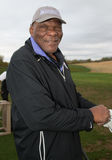 Super Bowl XLIX Weekend Vikings Carl Eller. Carl Eller was one of the NFL greats attending the annual Super Bowl Celebrity Golf Tournament in Scottsdale, Arizona royalty free stock photo