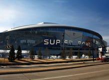 Super Bowl XLV del estadio de los vaqueros Foto de archivo libre de regalías