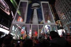 Super Bowl XLVIII NYC del NFL imagenes de archivo