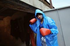 Super boxer Stock Photo