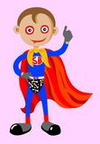 Super boy Royalty Free Stock Photos