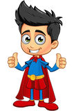 Super Boy Characterl Royalty Free Stock Images
