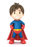 Super Boy Royalty Free Stock Photo