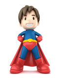 Super Boy Stock Photo