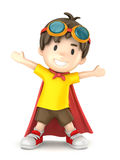 Super Boy Royalty Free Stock Image