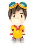 Super Boy Stock Image