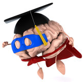 Super brain Stock Image