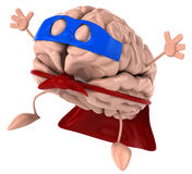 Super brain Stock Photo