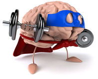 Super brain Stock Photography