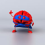 Super brain Royalty Free Stock Images