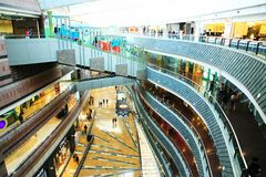 Super Brand Mall in Pudong,Shanghai Stock Image