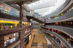 Super Brand Mall in Shanghai Stock Photography