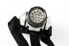 Super bright LED HeadLamp Royalty Free Stock Image