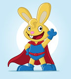 Super bunny wave Royalty Free Stock Images