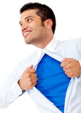 Super business man Stock Photography