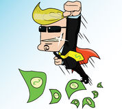 Super Business Man Stock Photo