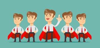 Super business team stock illustration