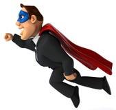 Super businessman Royalty Free Stock Image