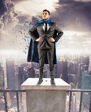 Super businessman Stock Photography