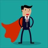 Super Businessman. Stock Photos