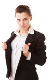 Super businesswoman Royalty Free Stock Photography