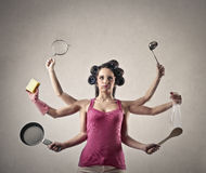Super businesswoman Royalty Free Stock Photo