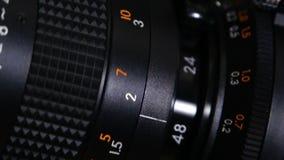 Super 8 Camera Film. Closeup
