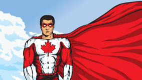 A Super Canadian Royalty Free Stock Images