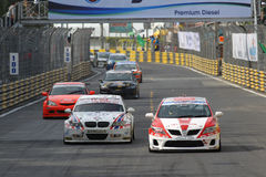 Super car action in thailand super series Stock Images