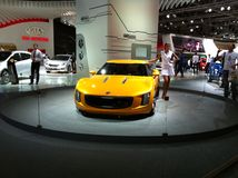 Super car, audi Royalty Free Stock Images