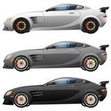 Super car design concept. Unique modern vector illustration
