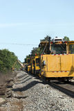 Railroad Track Repair Royalty Free Stock Photo