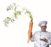 Super carrot. Royalty Free Stock Photos