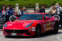 Super cars of the exclusive Gumboil 3000 Royalty Free Stock Images